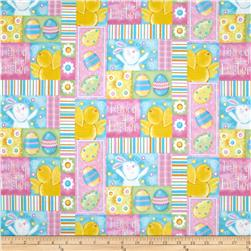 A Joyful Easter Happy Easter Patchwork Multi
