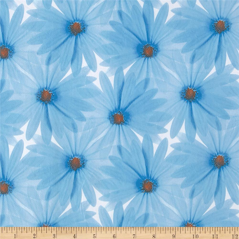 Livingston Vinyl Daisy Blue