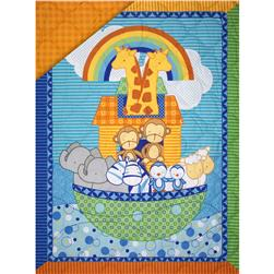 Rock the Boat Quilted Panel Multi