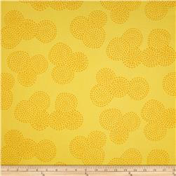 Michael Miller Contemporary Stitch Floral Sunny Fabric