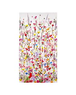 Mystic Meadow Digital Print Floral Border Spring