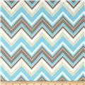 Bright Now Chevron & On Aqua