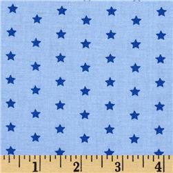 Moda Celebration Stars Light Blue