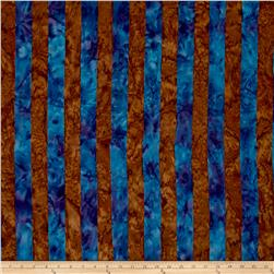 Artisan by Kaffe Fasset Batik Big Stripe Blue