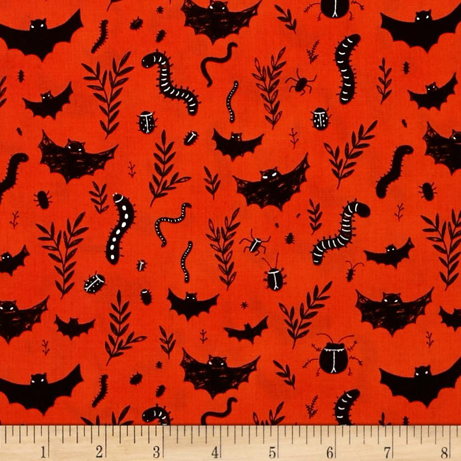 Mischief Night Bats Orange