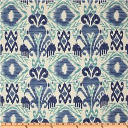 Richloom Solarium Outdoor Sumter Ikat Sky Home Decor