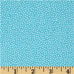 Prairie Yard Goods Pin Dots Teal