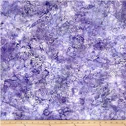 Wilmington Batiks Long Leaves Lavender