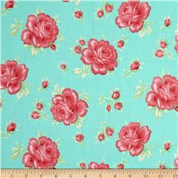 Verna Mosquera Sugar Bloom Icing Rose Aqua