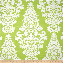 Premier Prints Berlin Slub Kiwi Fabric