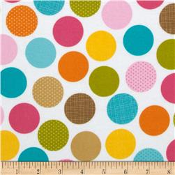 Riley Blake Summer Breeze Flannel Dot Multi