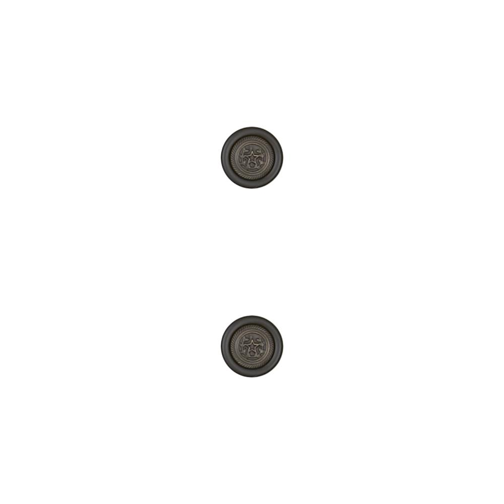Dill Novelty Button 5/8'' Star Black