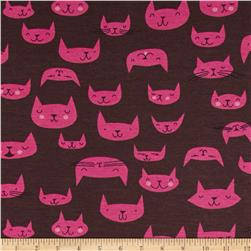 The Hit Parade Knits Cats Black