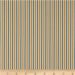 Bella Dura Eco-Friendly Indoor/Outdoor Asbury Stripe Blue/Tan