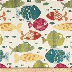 Swavelle/Mill Creek Something's Fishy Jacquard Tropical