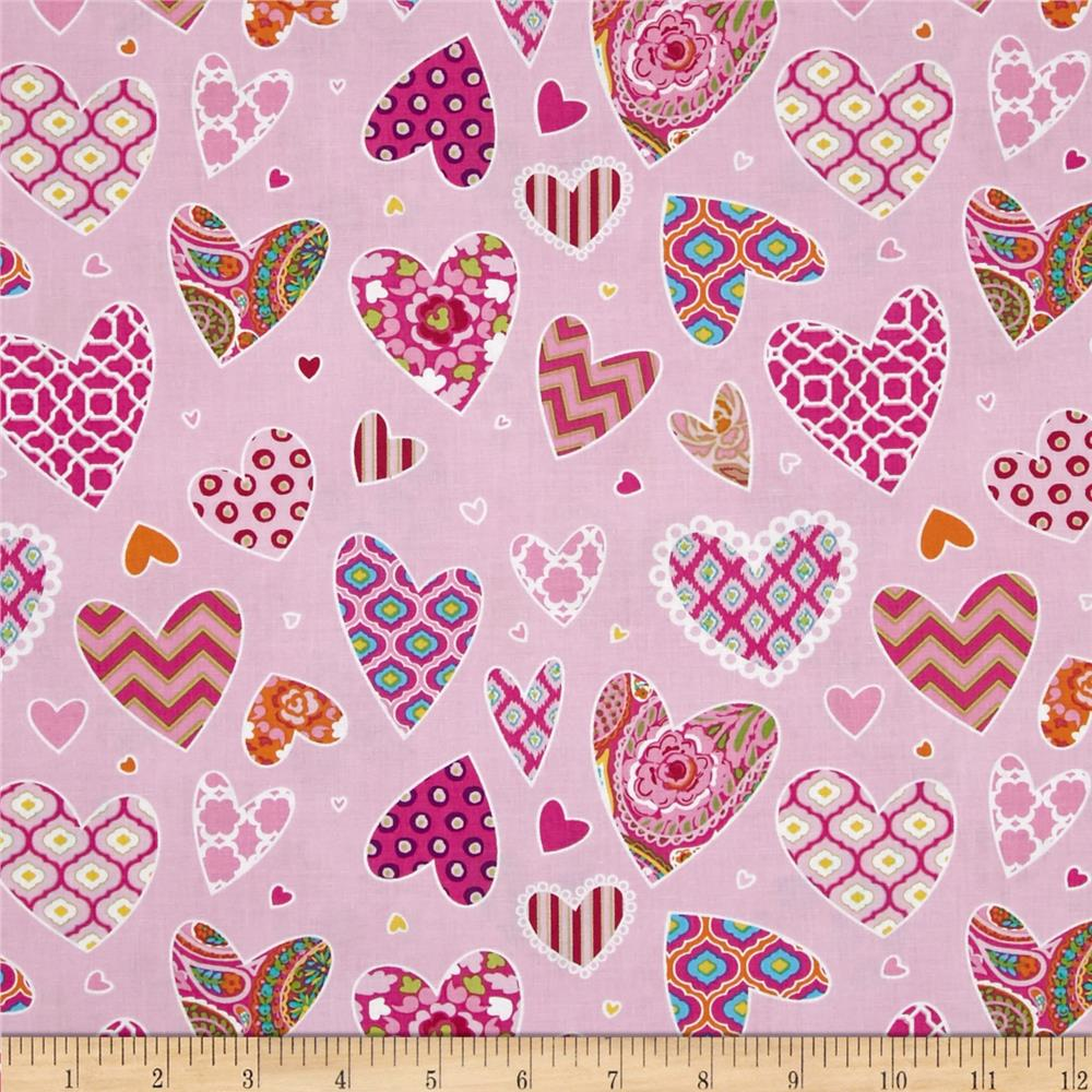 Haute Girls Hearts Pink
