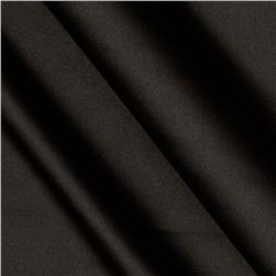 Stretch Charmeuse Satin Black