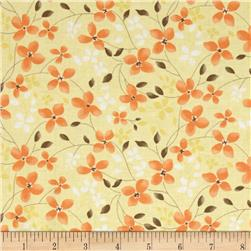 Moda Refresh Trailing Floral Sunshine