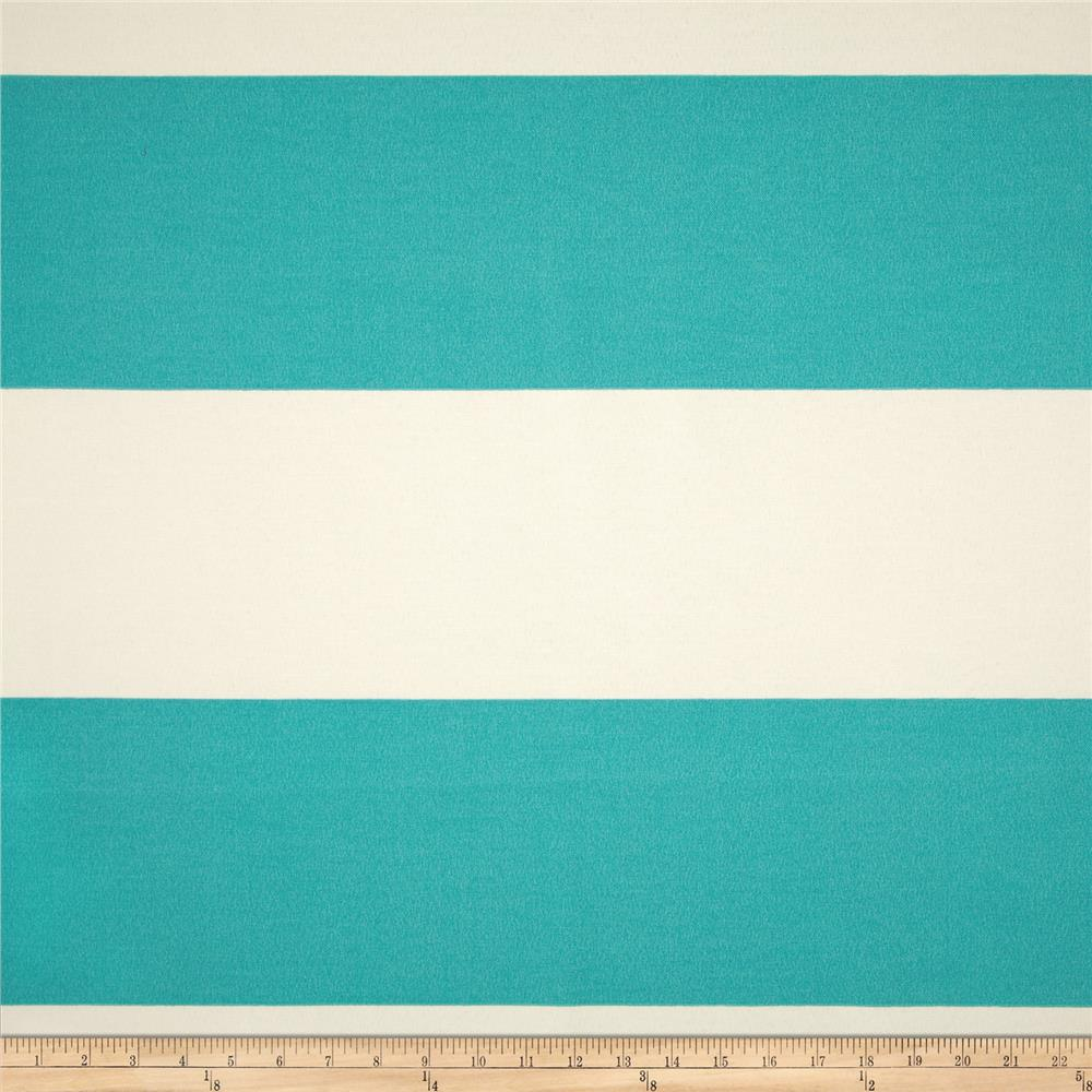 Premier Prints Indoor/Outdoor Cabana Stripe Ocean