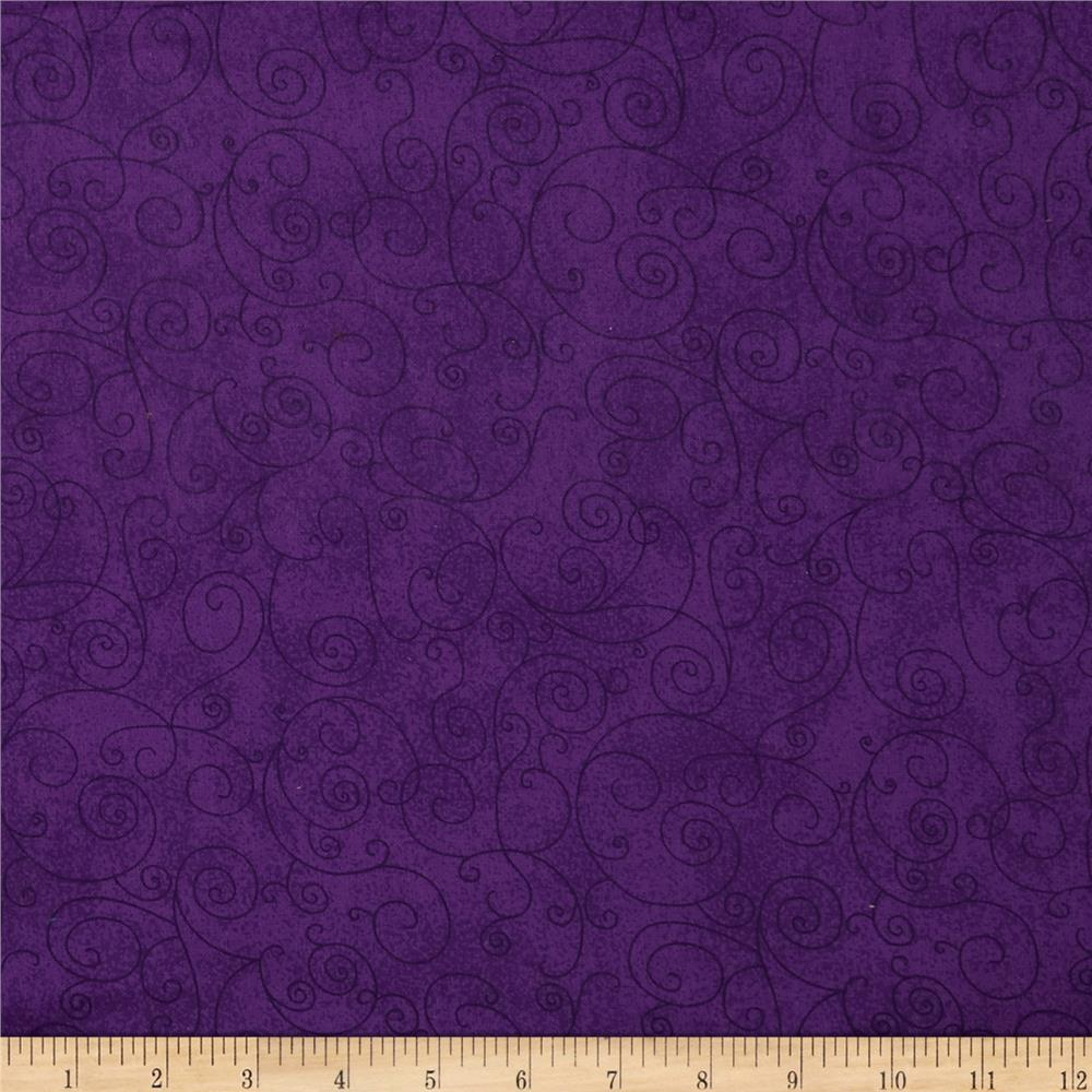 110 wide flannel quilt back willow dark purple discount for Quilting material