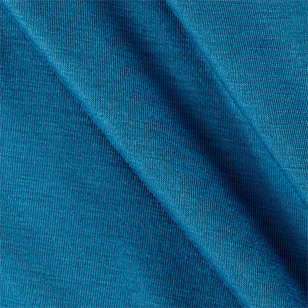 Rayon Spandex Jersey Knit Solid Aegean Blue