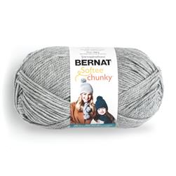 Bernat Chunky Yarn (30046) Grey Heather