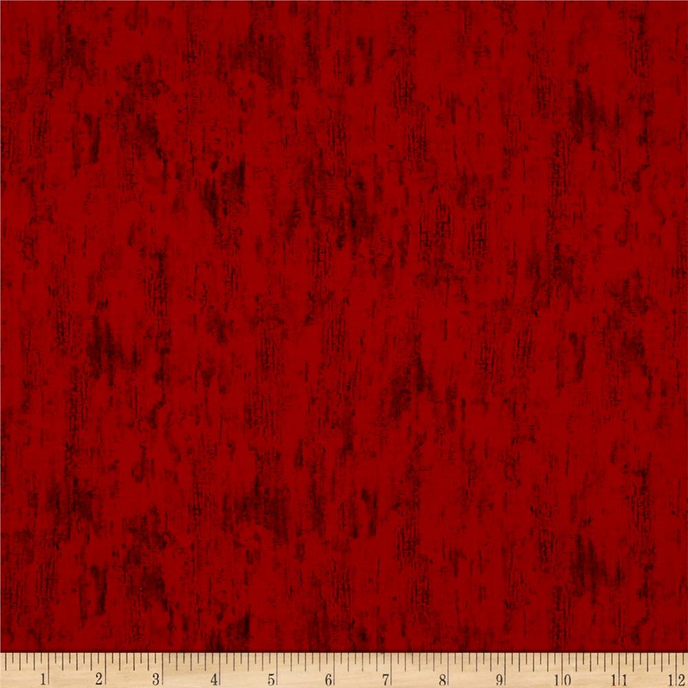 Moda Sundance Trail Rustic Woodgrain Red