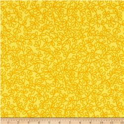 Windham Rumble Tonal Sprigs  Yellow