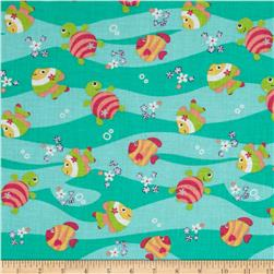 Newcastle Novelties Fish Seafoam