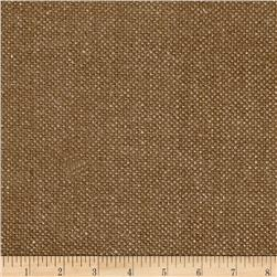 Clarence House Belgian Rustic Linen Chenille Basketweave Hickory
