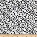 Graffiti Abstract Dots Grey
