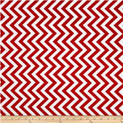 Moda Half Moon Modern Medium Zig Zag Ruby