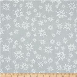 Home For The Holidays Snowflake Grey