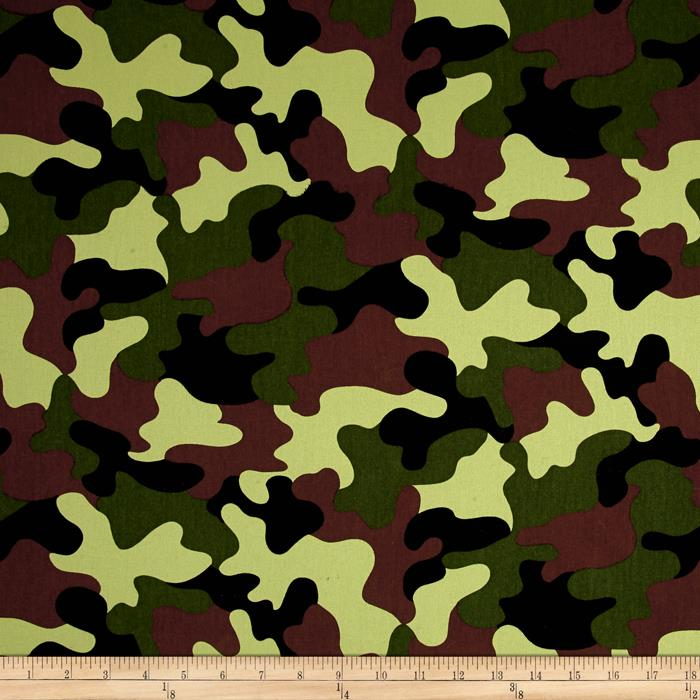 Cotton Twill Camo