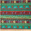 Viva Hatchi Sweater Knit Aztec Green