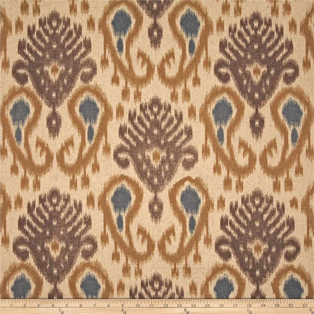 World Wide Barbados Ikat Mocha