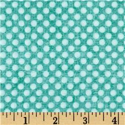 Holly Jolly Dots Light Teal