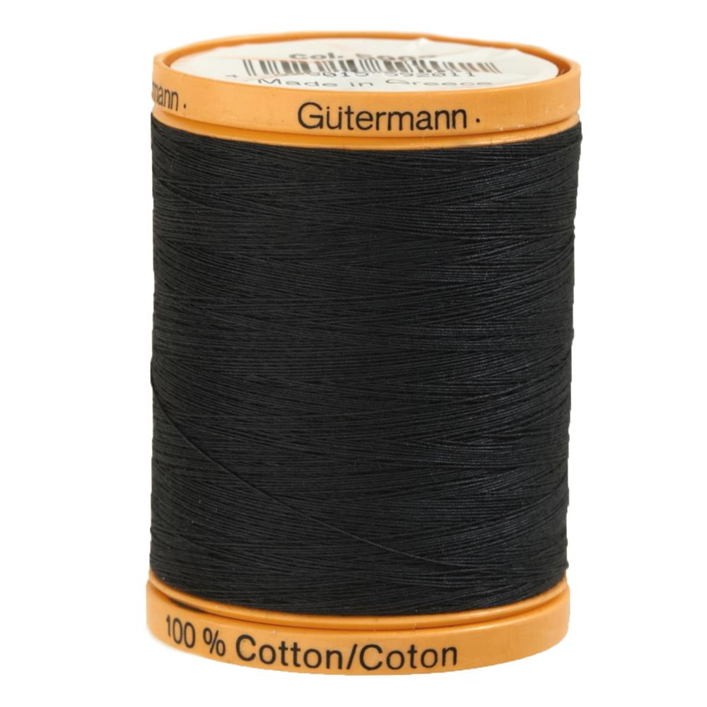 Gutermann Natural Cotton Thread 800m/875yds Iron Grey