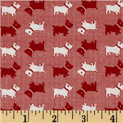 Aunt Grace Miniatures Scotties Red