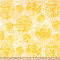 Soft Dreams Medallion Yellow