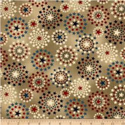 Oh My Stars Weathered Star Medallion Linen