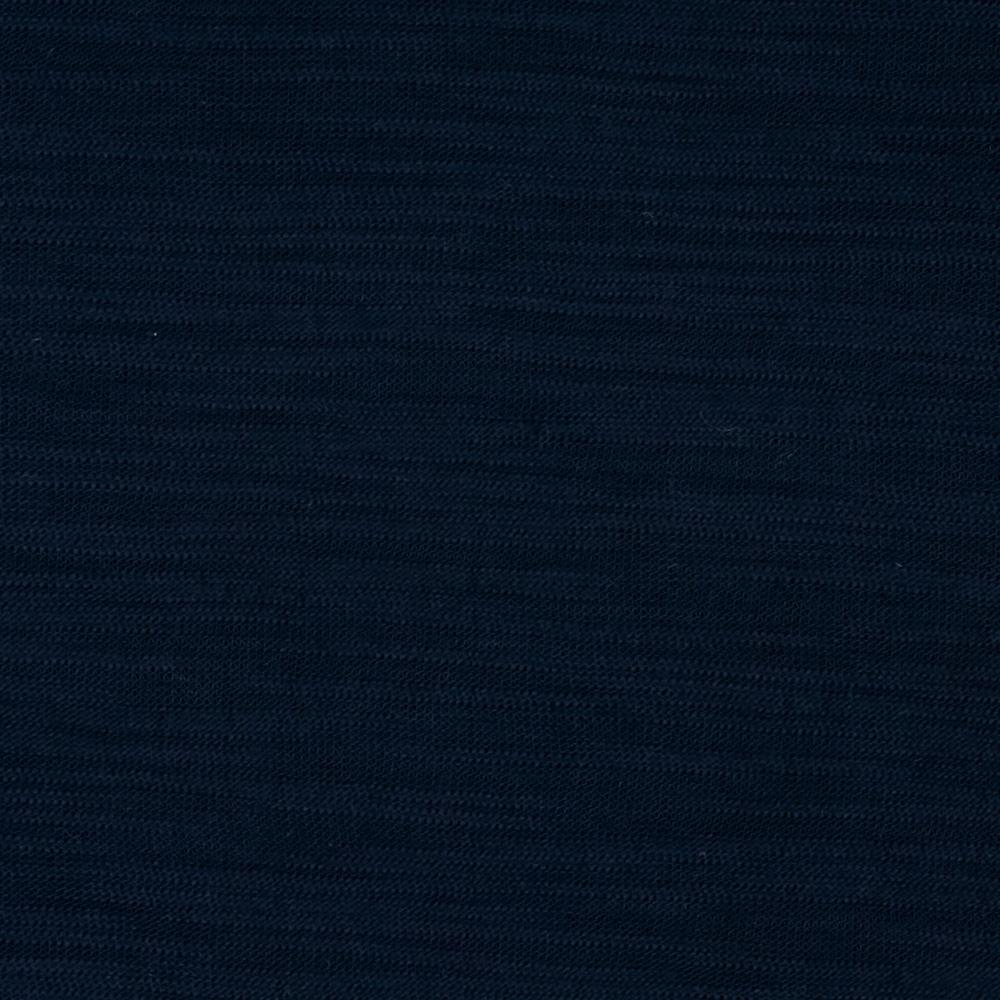 Rayon Slub Jersey Knit Midnight Blue