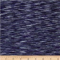 Strata Athletic Knit Navy/Purple/White