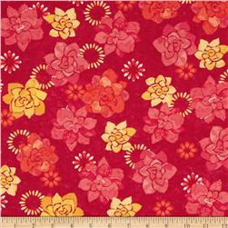 Island Breeze Floral Orange