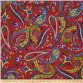 Imperial Paisley Paisley Red