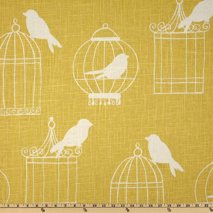 Duralee Home Birdcage Canary