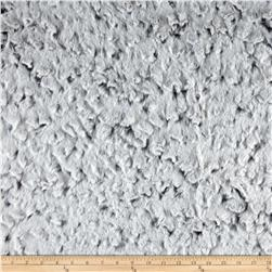 Tissavel Chinchilla Cloud Faux Fur Silver