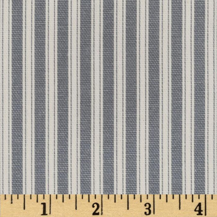 Magnolia Home Polo Stripe Sail Blue