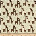 Riley Blake Giraffe Crossing Giraffe Giraffe Cream