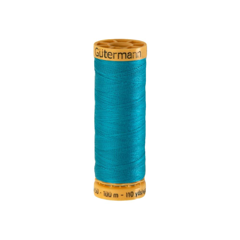 Gutermann Natural Cotton Thread 100m/109yds Turquoise